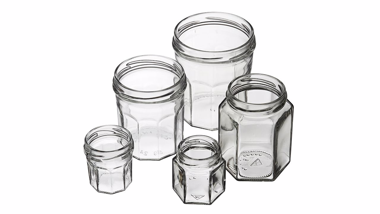 DECA Jars with facets
